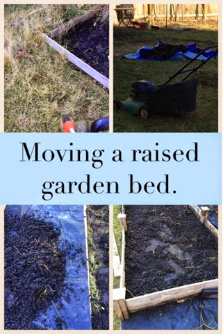How to move your raised garden beds.