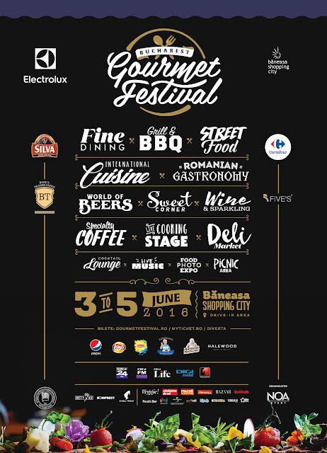 Invitatie la Bucharest Gourmet Festival 2016