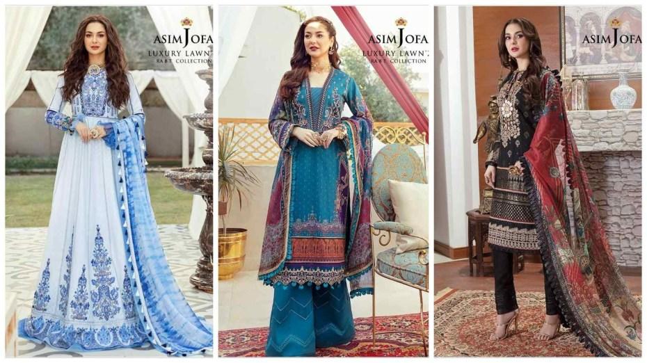 Asim Jofa presents RABT – Luxury Lawn'21 Collection 2021