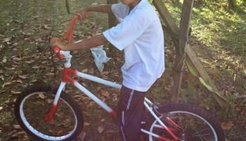 basikal BMX selepas restore