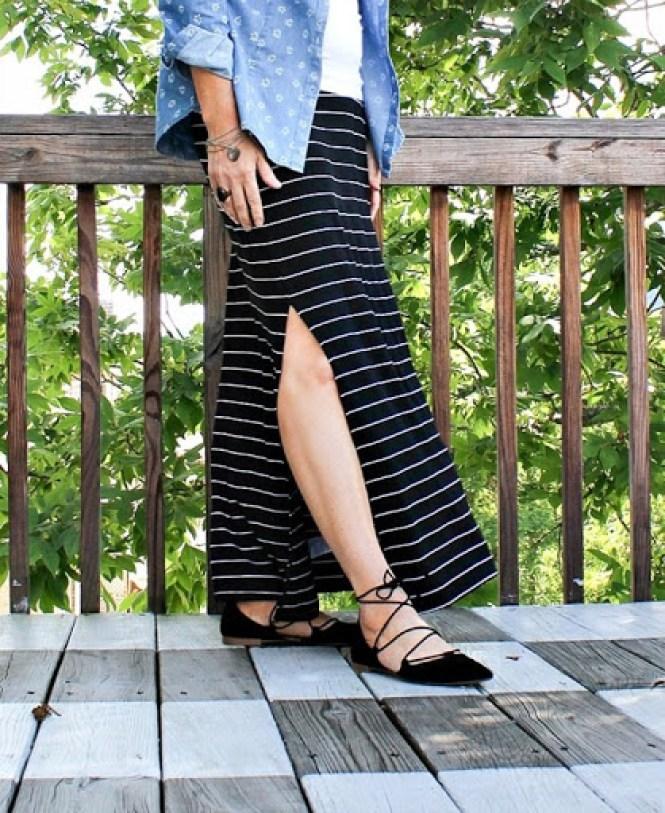black-striped-maxi-skirt-2