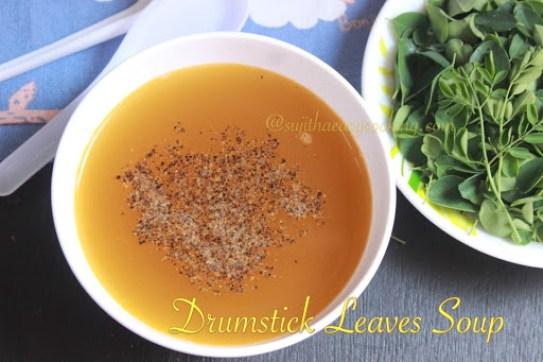 Drumstick Leaves Soup1