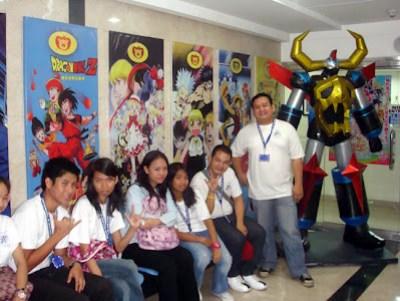 March 11: Toei Animation Studios, Eastwood, Quezon City