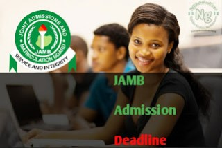JAMB Deadline For 2020/2021 Admissions Exercise