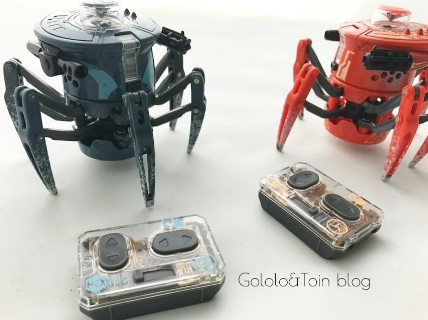Juguetes robóticos de Juguetrónica. Robots arañas