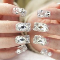 Latest Nail Art Ideas for brides 2017 styles