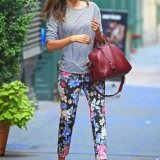 trendy outfit ideas about floral pants 2015 2016