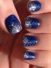 blue nail art design ideas basic
