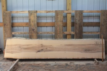 Hackberry 285-4  Length 10' Max Width (inches) 24 Min Width (inches) 22 Thickness 10/4  Notes : Kiln Dried