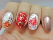 chinese year nail art