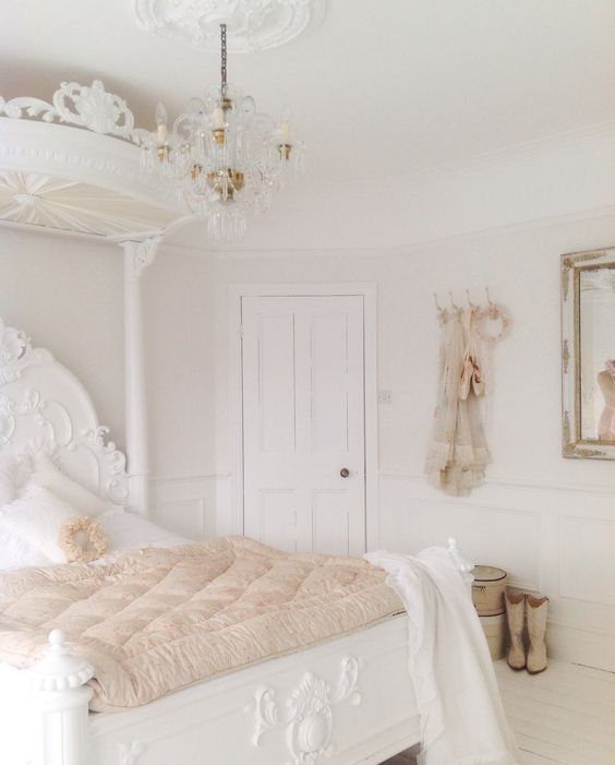 cool french shabby chic bedroom decorating ideas | Cool Shabby Chic Bedroom Decor Ideas - Fashion 2D