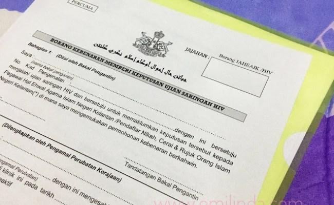 Ujian Saringan Hiv Untuk Pra Perkahwinan Di Selangor Www Cute766