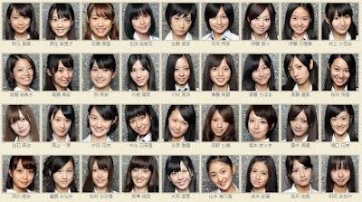 乃木坂46一期生の合格直後の顔面写真