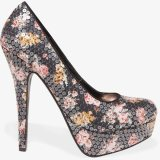 floral high heels for spring 2015 2016