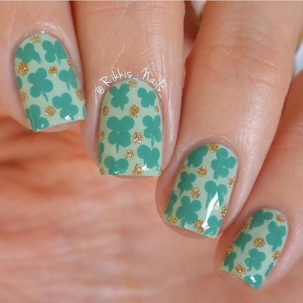Four Leaf Clover Nail Salon Styles 2d