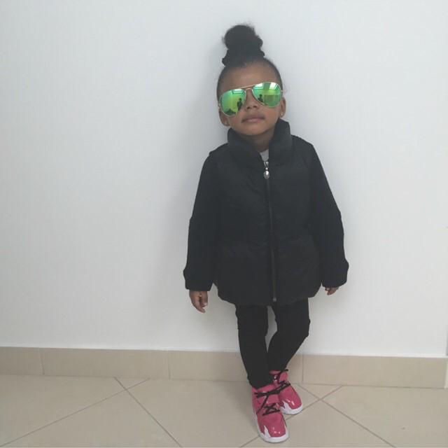 Dede Ayew's daughter