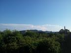 Heftige Gewitterzellen in der Steiermark vom Maurer Wald gesehen (16.06.2013)
