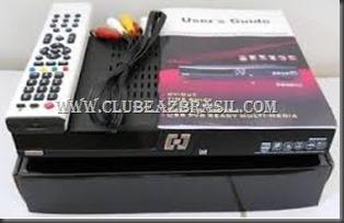 AZAMERICA S930A TRANSFORMADO EM SUPERBOX BENZO