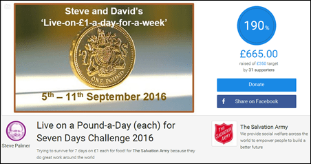 £1 a Day 2016