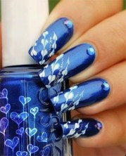 top lovely blue nail design trends