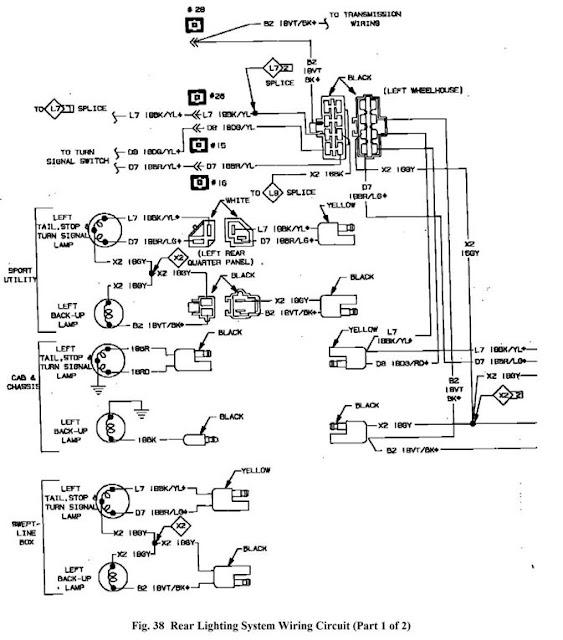 1995 chevy s10 alternator wiring