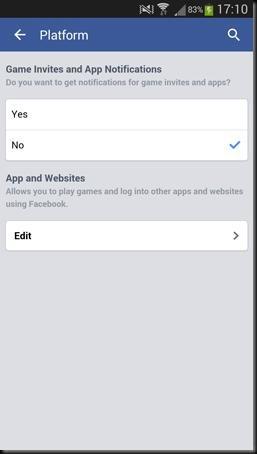 cara mematikan invite game di facebook