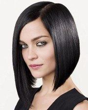 asymmetrical long bob hairstyles