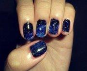 royal blue nail design ideas 2017