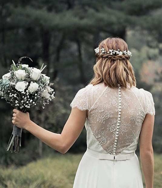 2016 wedding hairstyles short