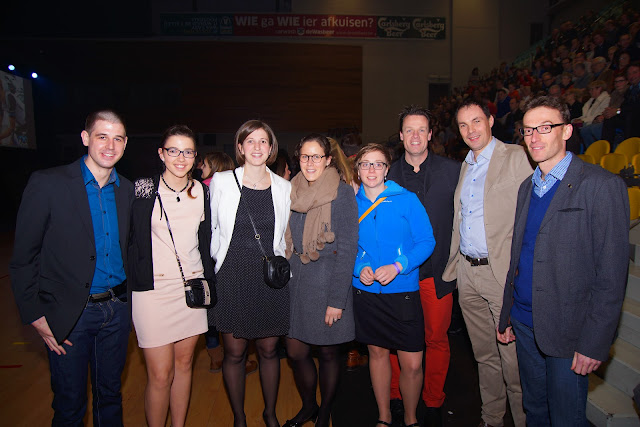 dames en heren van TTC Roeselare