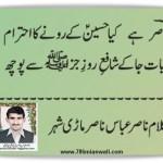 Nasir Abbas Poetry