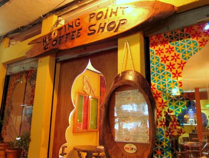 Meeting point coffeeshop, Banos, Ecuador