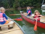 USA, Smith Mountain Lake, VA - Młodzi żeglarze (Fot. Agnieszka Bajan)