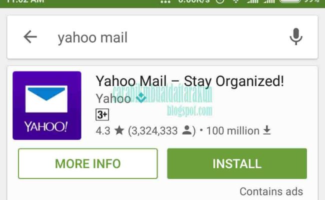 Cara Membuat Akun Email Yahoo Di Hp Android Part 1 Dubai Khalifa