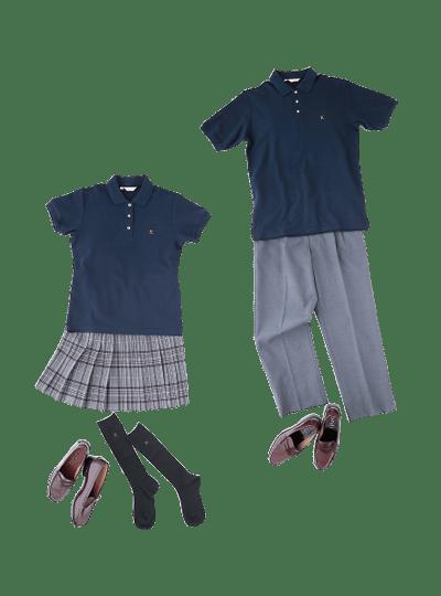 関東第一高等学校の女子の制服4
