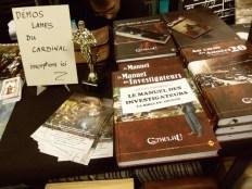 Le Manuel des Investigateurs - Précommande Aventure, Fantastique Historique, Horreur  AURIBEAU Philippe  Titre en précommande  -- Disponible fin février / début mars 2013 --