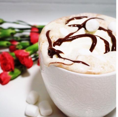 chokladsås med choklad