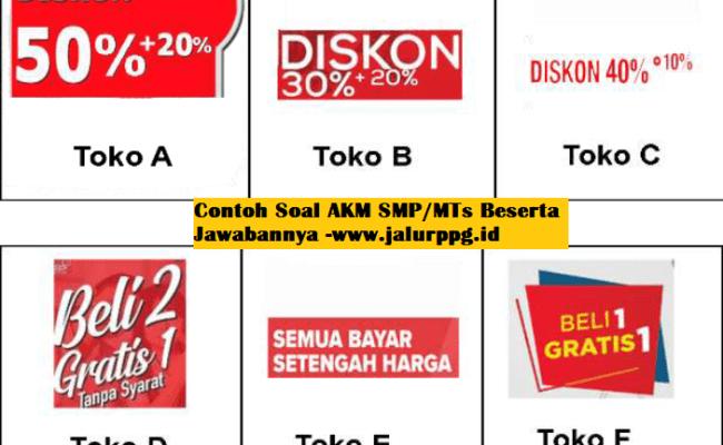 Contoh Soal Akm Smp Mts Beserta Jawabannya Jalurppg Id Cute766