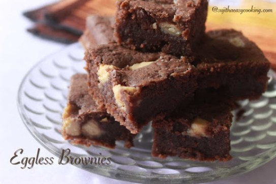 Eggless Brownies1