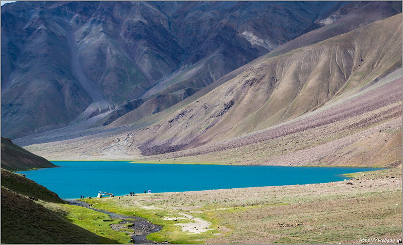 The Chandertaal Lake, Spiti - Hampta Pass Trekking