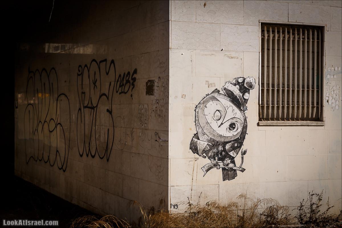LookAtIsrael.com - Граффити Хайфы   Haifa street art