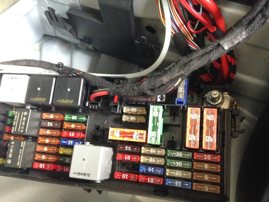 hight resolution of r350 fuse box rear trailer wiring question 2006 r350 mbworld org forums r350