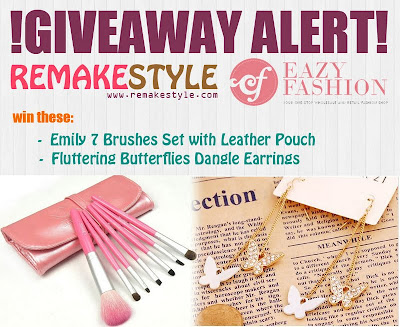 Win Beauty and Fashion Products Giveaway | RemakeStyle.com X Eazy Fashion Shop Giveaway