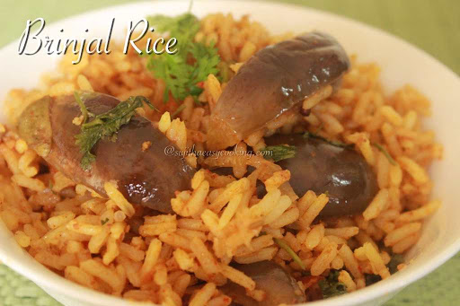 Brinjal Rice4