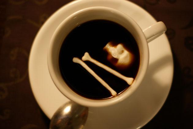 *骷髏方糖鬼咖啡:白骨浮現?!農曆七月還沒到呢! 1
