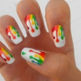 trendy nail art designs to do at home