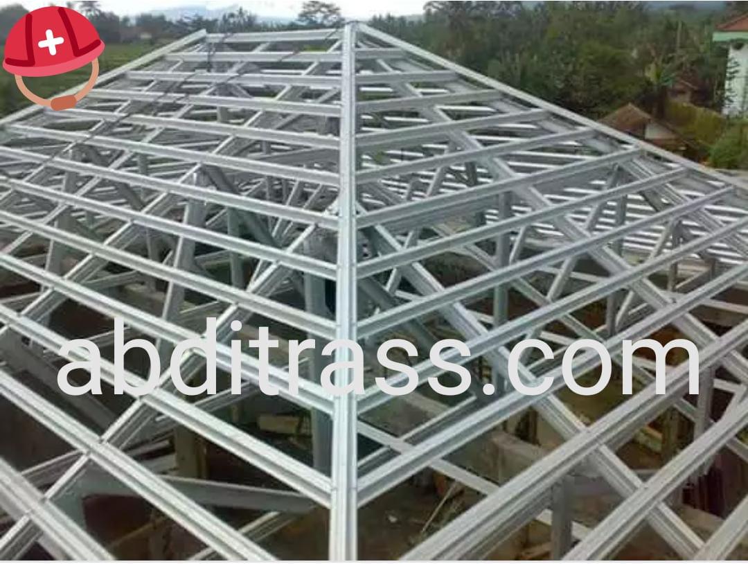 kanopi baja ringan bogor kota jawa barat distributor pemasangan rangka atap