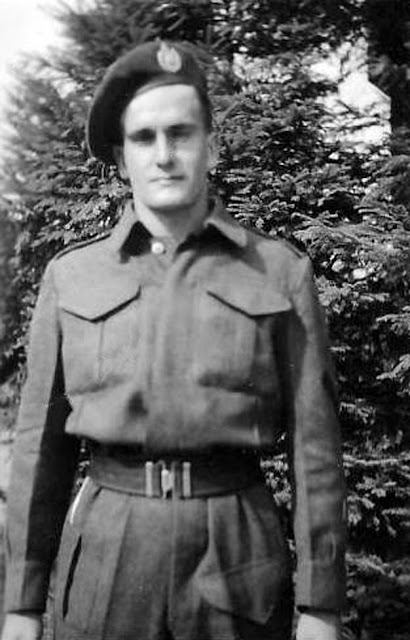 Infantryman Lorne Alfred Goulet of the Royal Winnipeg Rifles