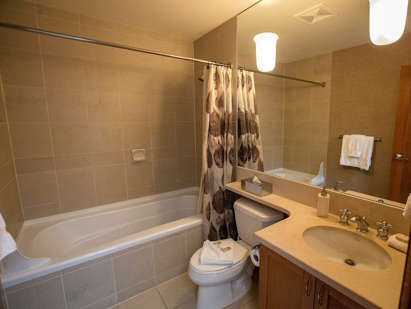 Lower Master Ensuite at Whistler Montebello Luxury Rental