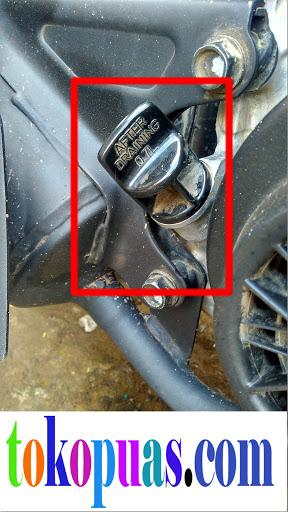 trik mengganti oli mesin honda dengan mudah